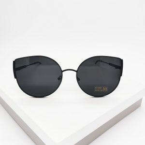 Black Metal Cat Eye Sunglasses