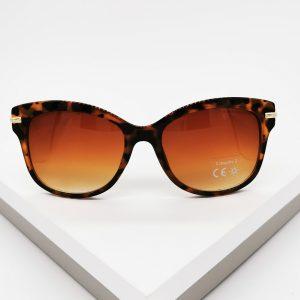 Brown Leopard Glam Gal Sunglasses