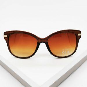 Brown Glam Gal Sunglasses
