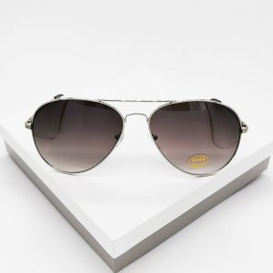 Light Black Aviator Sunglasses