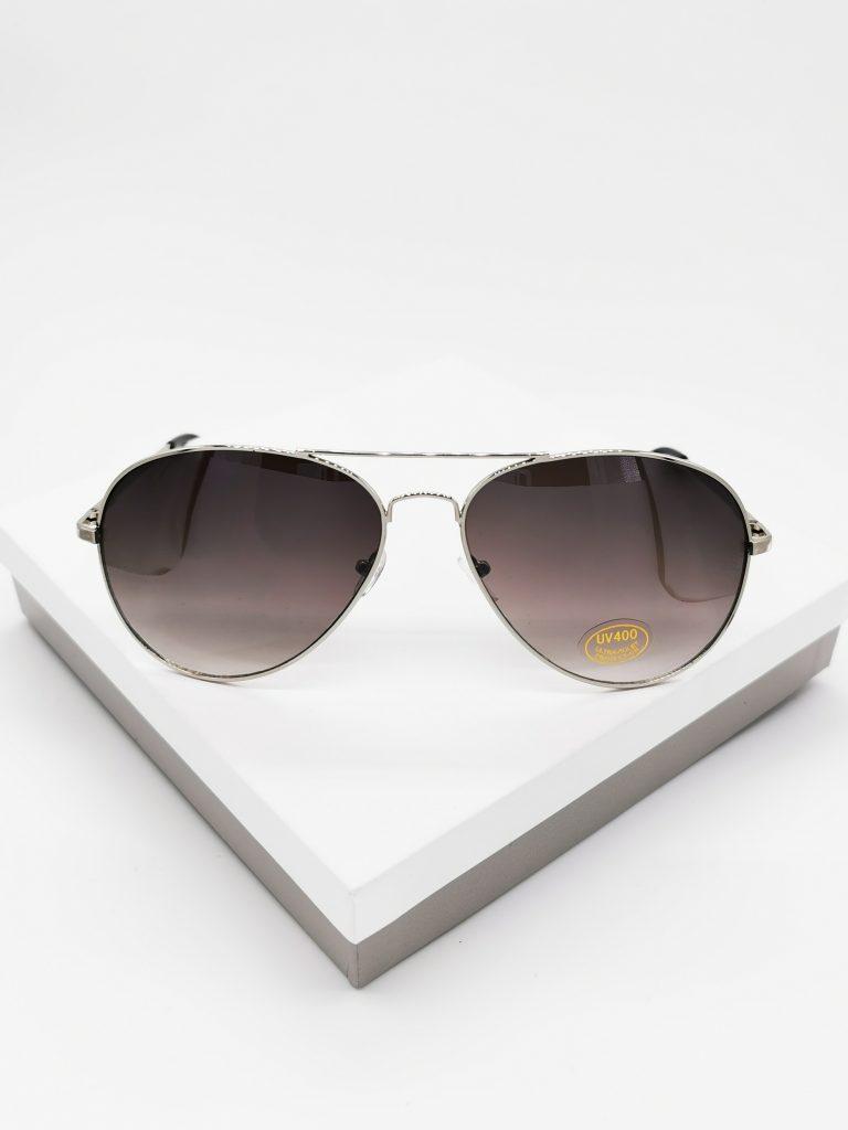 Callel Light Black Aviator Sunglasses