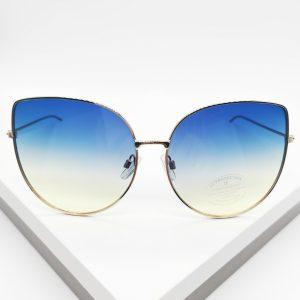 Light Blue Tinted Oversized Sunglasses