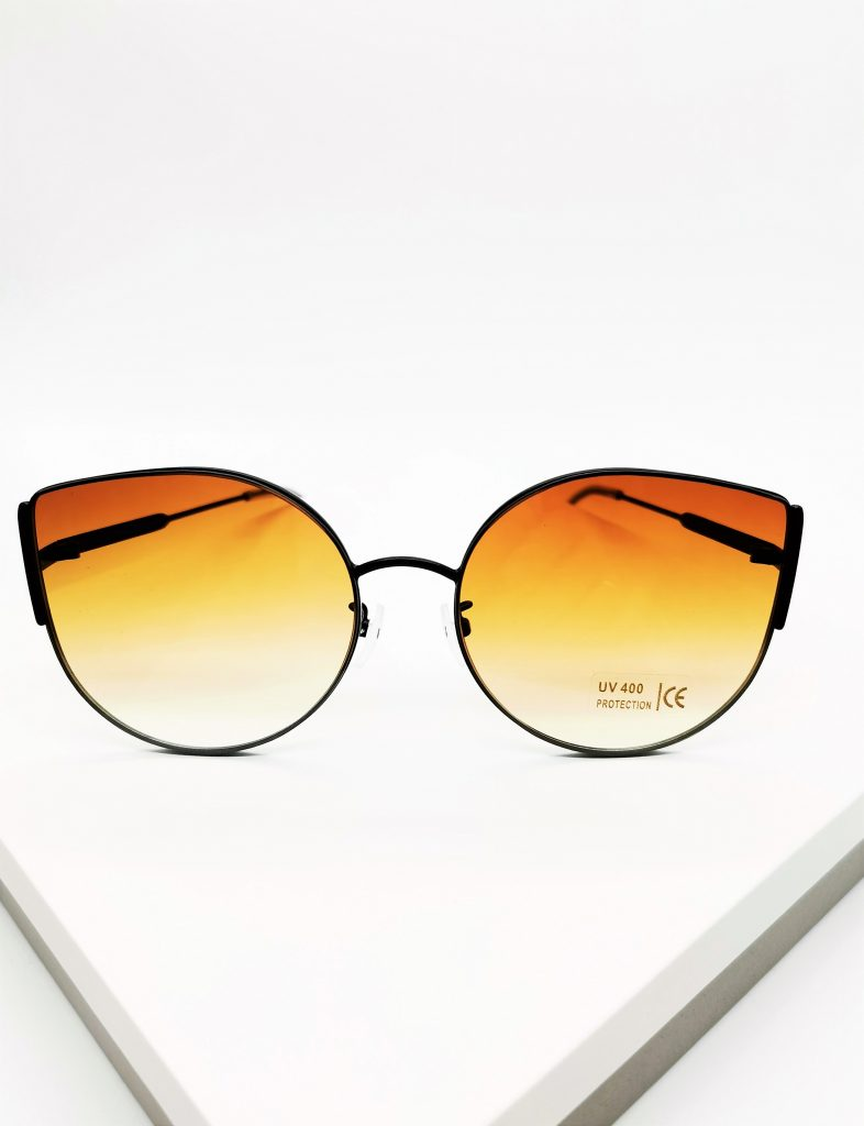 Callel Brown Oversized Sunglasses