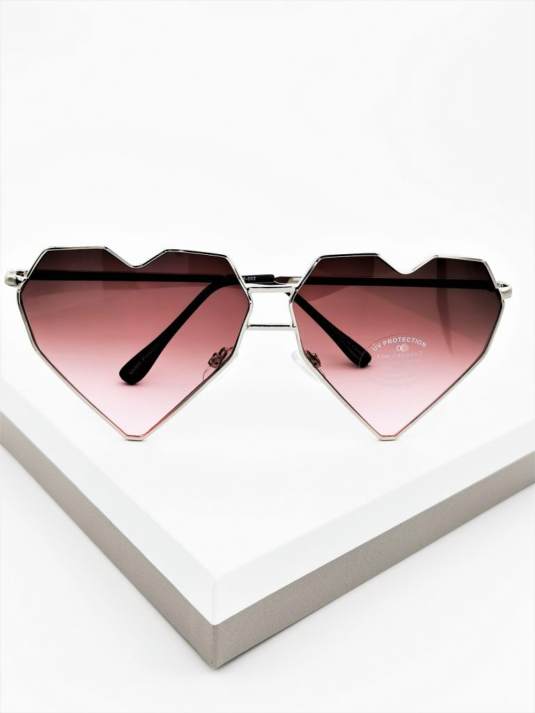 Callel Heart Shaped Sunglasses