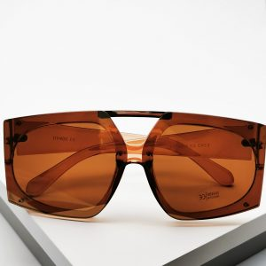 Brown Oversized Sunglasses
