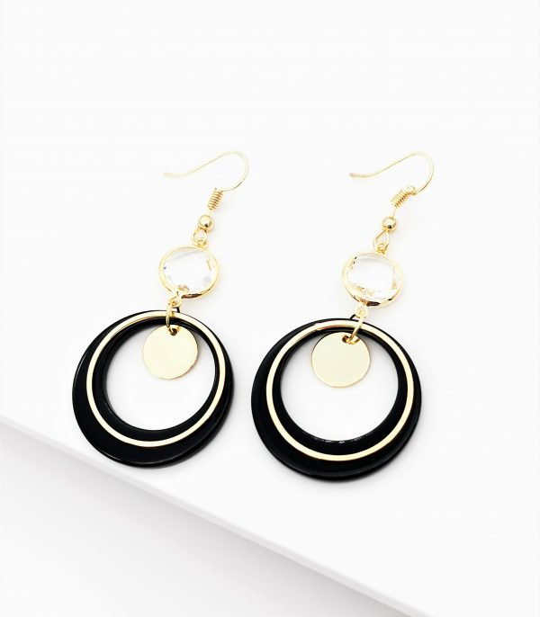 Callel 14K Gold Dangle Drop Hook Earrings