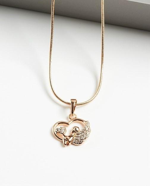 Callel Angel Heart Pendant Necklace