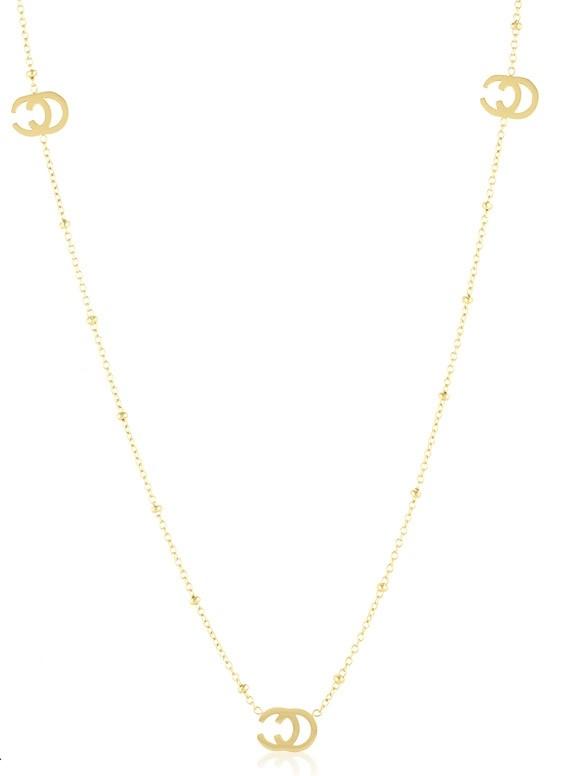 Callel 14K Gold Long Celebrity Necklace