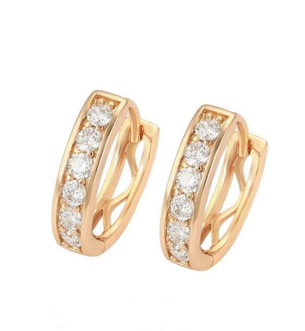 Callel Gold Huggie Hoop Earrings