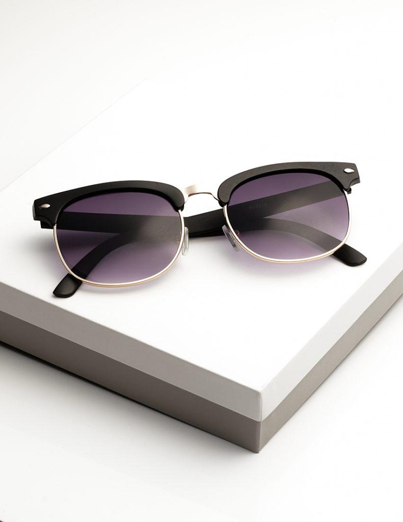 Callel Black Trim Sunglasses