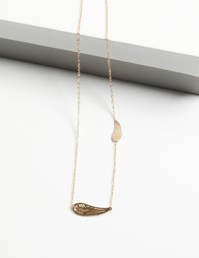 Callel Angel Wing Celebrity Necklace