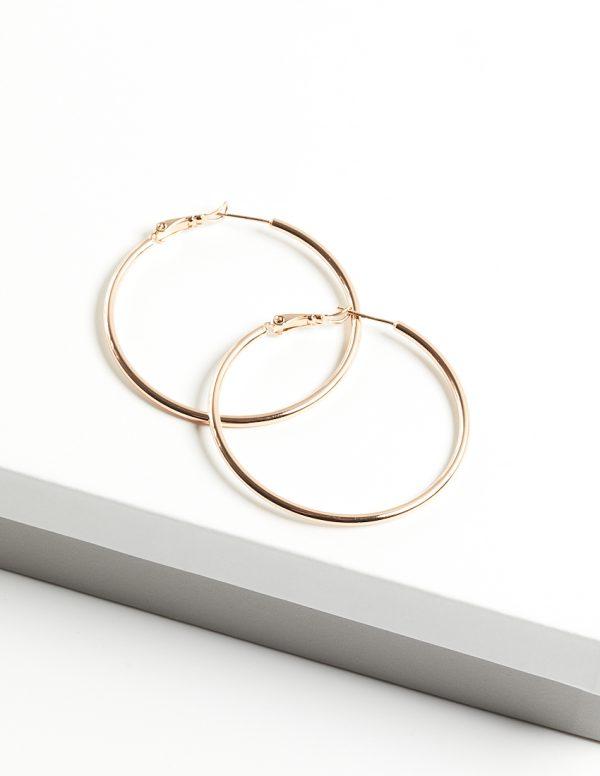 Callel Gold Hoop Earrings
