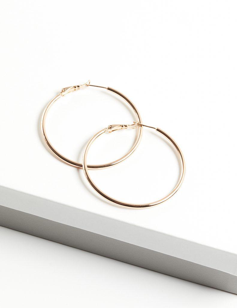 Callel 18K Gold Hoop Earrings