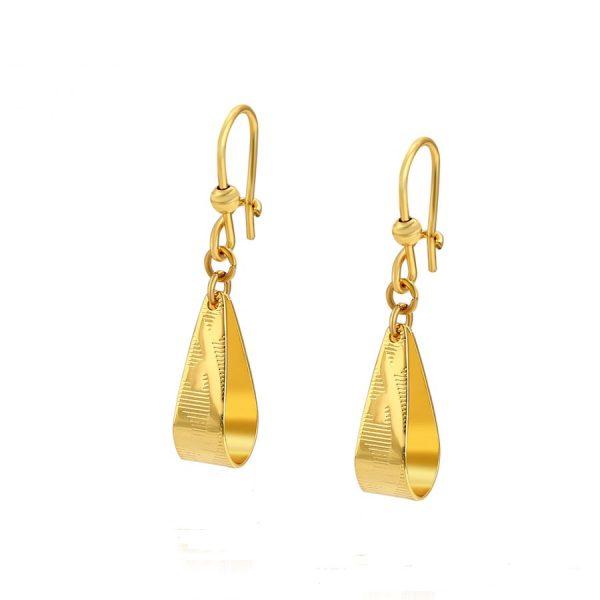 Callel Gold Dangle Drop Earrings