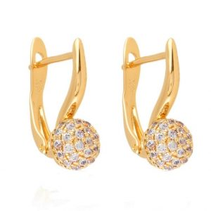 Gold Plated Everyday Earrings
