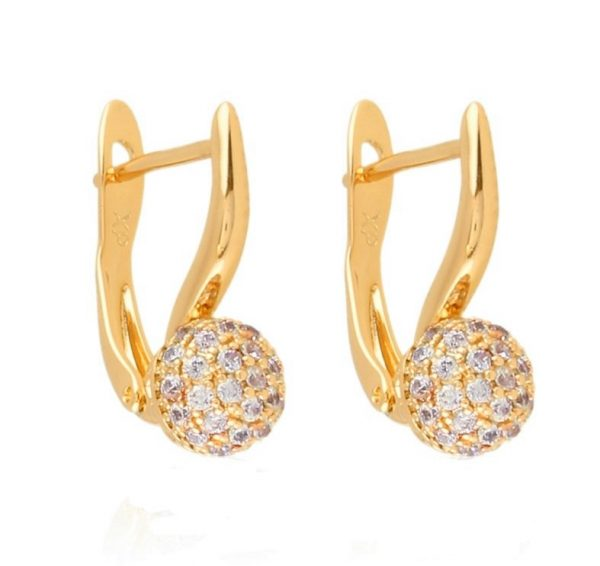 Callel Gold Plated Everyday Earrings