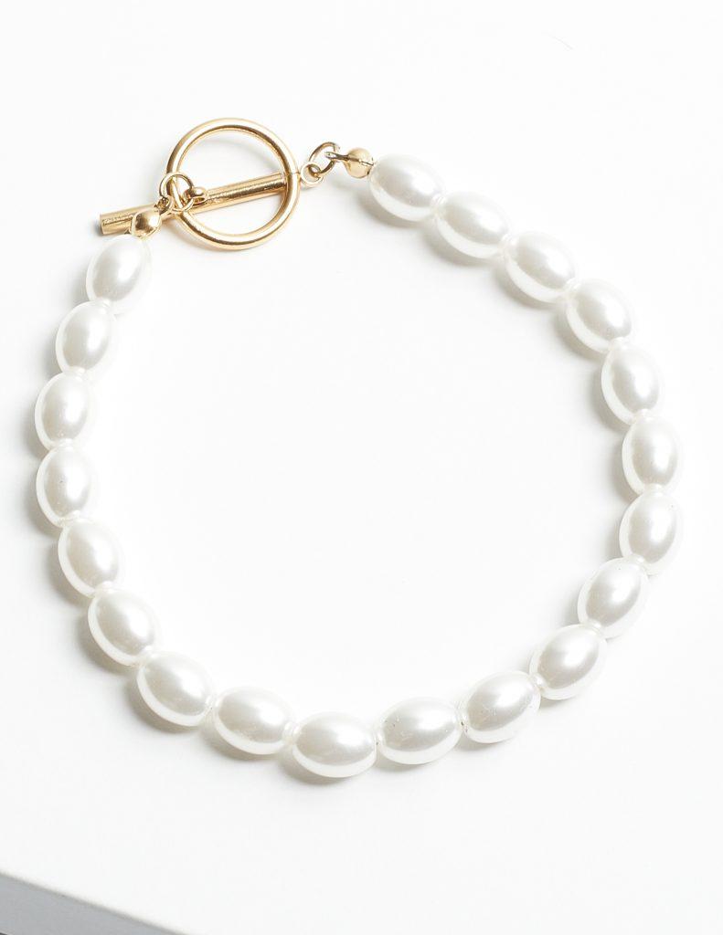 Callel 14K Gold Pearl Bracelet