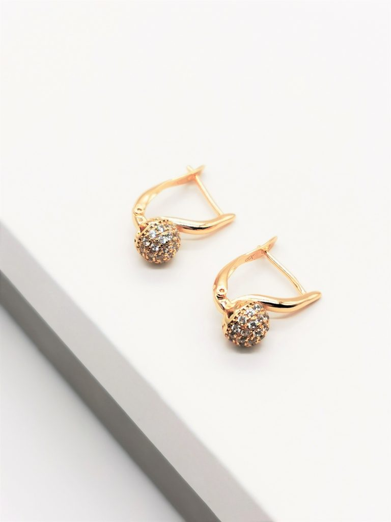Callel 18K Gold Everyday Earrings
