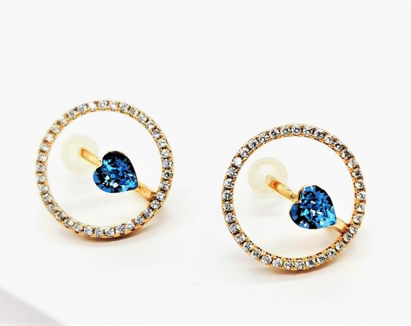 Material: Copper 18K Gold Plated 100% Hypoallergenic & Nickel Free The Earring size: 15mm