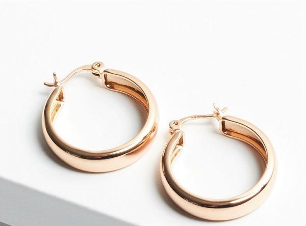 Callel Creole Hoop Earrings