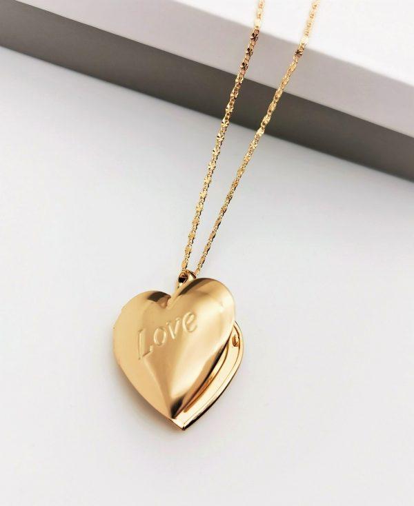 Callel Gold Heart Locket