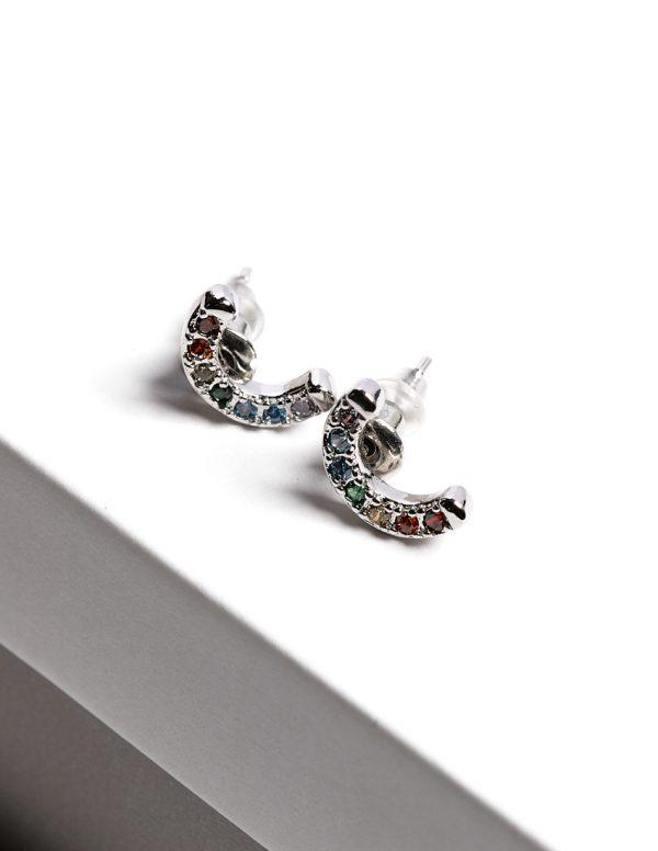 Callel Rainbow Stud Earrings
