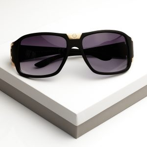 Gold Detail Mens Designed Sunglasses