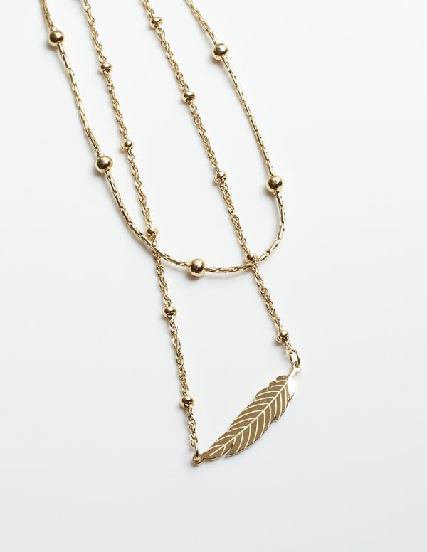 Callel Double Layered Celebrity Necklace
