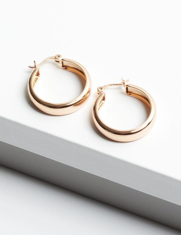 Callel 18K Creole Hoop Earrings