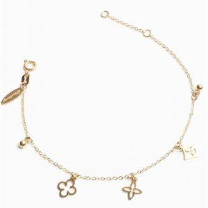 14K Gold Blueberry Bracelet