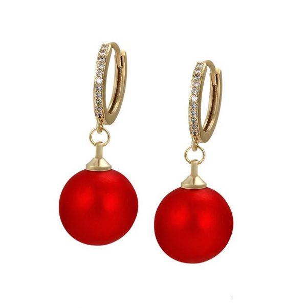 Callel Gold Elegant Huggie Drop Earrings