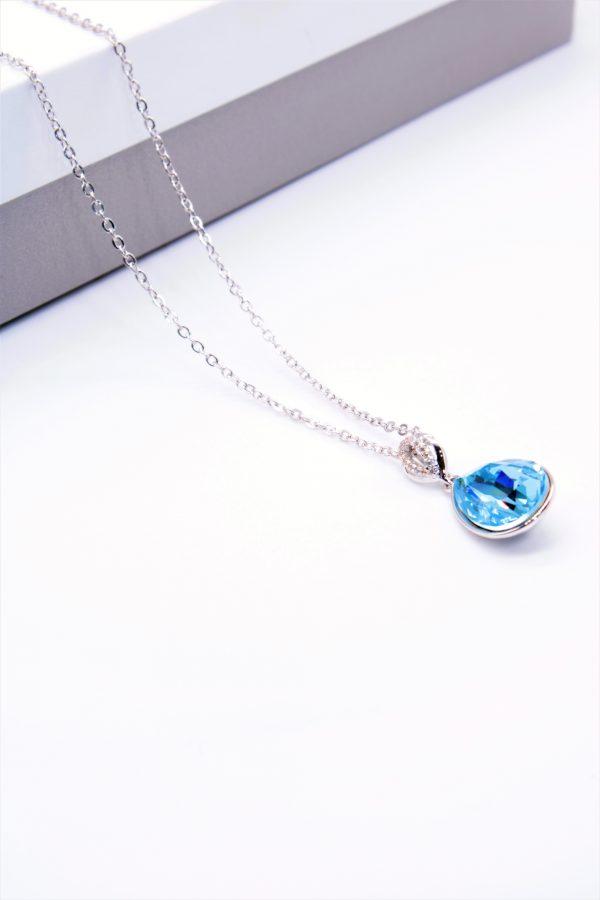 Callel Pendant Necklace Embellished With Crystal From Swarovski