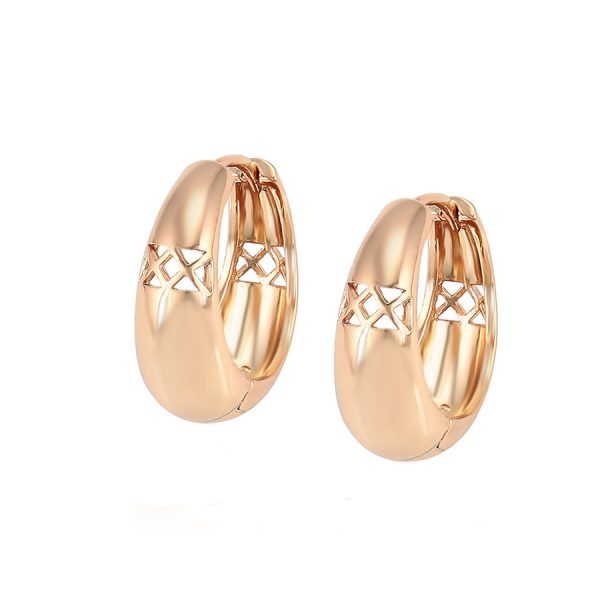 Callel 18K Gold Huggie Earrings