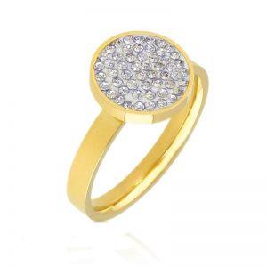 Cubic Zirconia Signet Ring