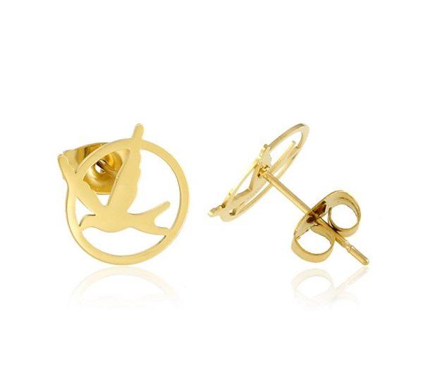 CALLEL swallow stud earrings