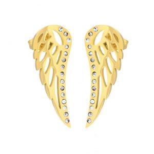 Angel Wing Stud Earrings
