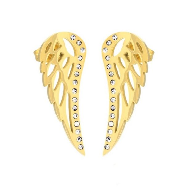 Callel Angel Wing Stud Earrings