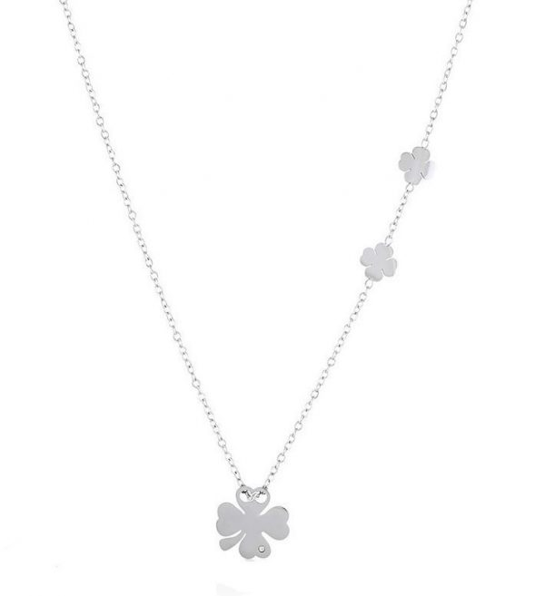 Callel Lucky Four Leaf Clover Necklace