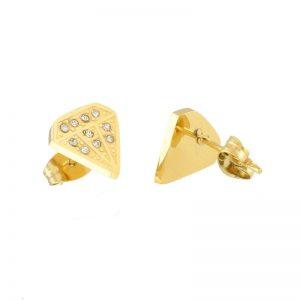 Bright Diamond Stud Earrings