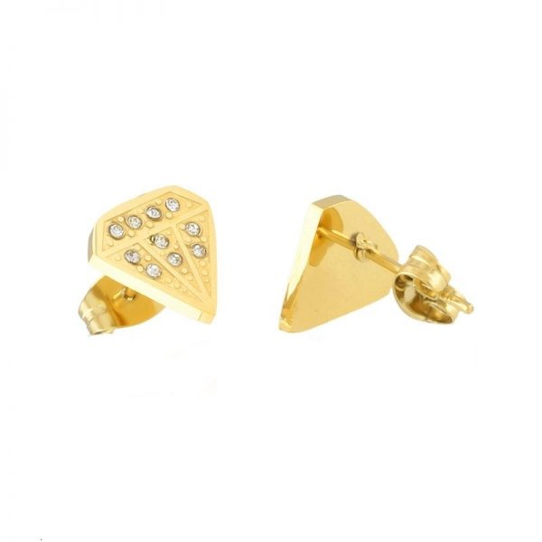 Callel Bright Diamond Stud Earrings