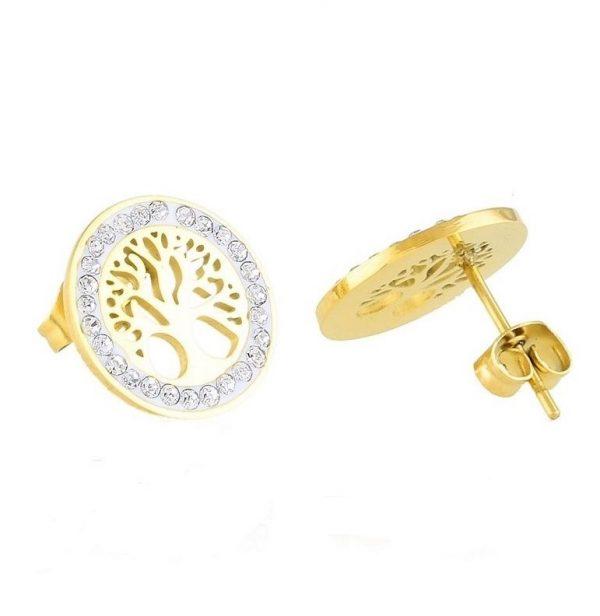Callel Tree of Life Stud Earrings