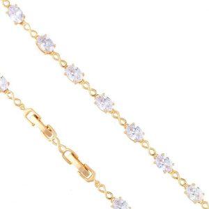 Luxury Cubic Zirconia & Infinity Bracelet
