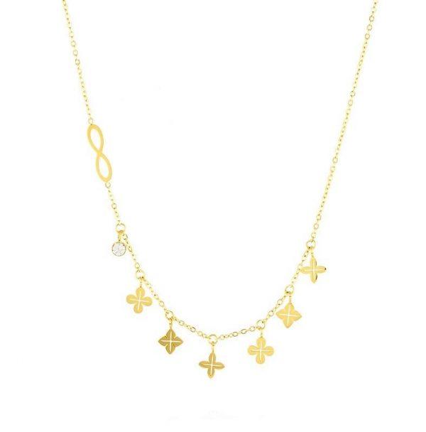 Callel Blueberry Charm Celebrity Necklace