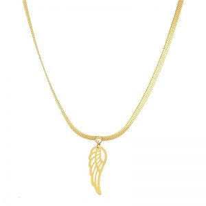 Angel Wing Celebrity Necklace