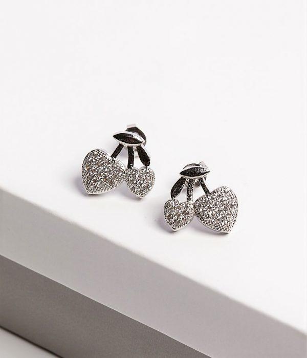 Callel Cherries Stud Earrings